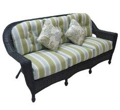Chicago Wicker/NCI Georgetown Sofa by Inside Out Furniture Warehouse. $999.00. GEORGETOWN SOFA BY CHICAGO WICKER/NCI ALL ALUMINUM FRAME WITH SUNBRELLA CUSHIONS Product Number HK3244A-3S Overall Width 78.5 Overall Depth 34 Overall Height 38 Seat Height 13 Seat size 66 x 24 Outdoor Sofa, Outdoor Living, Patio Furniture Sets, Wicker, Chicago, Couch, Warehouse, Number, Sofa