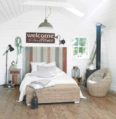 Cielo de cama de madera L. 140cm