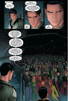 Dick Grayson talks about being Robin