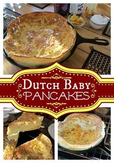 German Pancake, Dutch Baby Pancake this recipe has how to make different serving sizes and nice photos