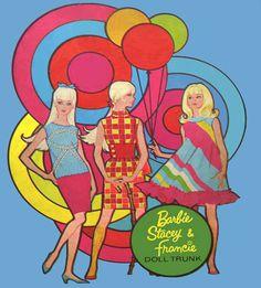 Vintage Vinyl Barbie Doll Cases by MyLifeInPlastic.com, via Flickr Barbie Stacey Francie Balloons by MyLifeInPlastic.com, via Flickr