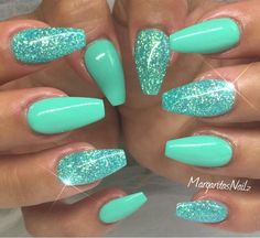 Coffin Nails Green