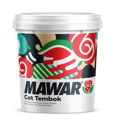 Taka Paints is an emulsion brand from Mikatasa, Indonesia. The brief was to retouching the existing logo without losing its identity, to develop a packaging design for a new product Florance and to update packaging design for the existing Mawar, Armor, Imprezza and Master Plamir products.