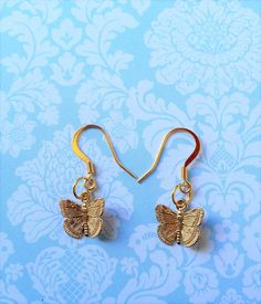 Butterfly Earrings / Butterfly Gifts /Mothers by NamecakesbySonia
