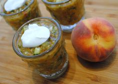 Culinary Adventures with Camilla: Improv Cooking Challenge: Roasted Peach-Tomato Gazpacho with Crème Fraîche