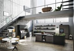 Offene Küchen
