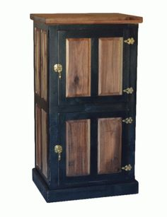 Hartwell Ice Box by 2-Day Designs is a two door ice box in the original finish.