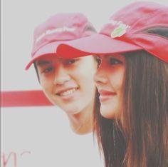 Mark Prin, Korean Drama Quotes, Thai Drama, Sweet Couple, Celebrity Couples, Photo Poses, Kdrama, Thailand, Asian