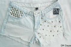 *--* I WANT My Jeans, Denim Jeans, Hot Shorts, Jean Shorts, Short Jeans, Refashion, Short Skirts, Nova, Womens Fashion