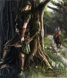 A very feminine Robin Hood ---not to my taste  but each to their own