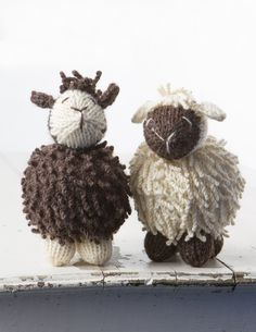 Brown/White Sheep