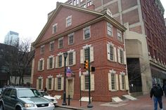 The Graff House- where Thomas Jefferson drafted the Declaration of Independence