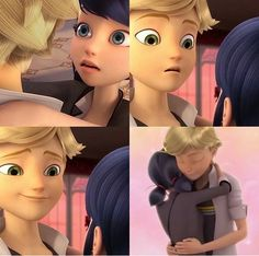 "My favorite episode now ❤️>> ""She's just a friend,"" yeah right Adrien ""lemme just give you the look and flirt with you and hug you"" Agreste."
