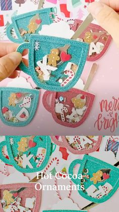 Christmas Ornament Crafts, Christmas Crafts For Kids, Holiday Crafts, Merry Little Christmas, Christmas Tag, Bookmarks Kids, Paper Crafts Origami, Christmas Activities, Preschool Crafts