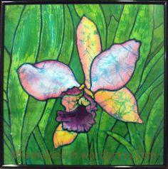 Background Bila gambar bersuara: Batik painting yang berwarna warni.