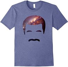 Neil deGrasse Tyson official Amazon t-shirt store.  LOTS of tees.  Shown here:  the Galaxy T-shirt