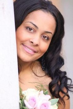 "#Hair #Model: Jakaliaan - wearing 28"" virgin Indian #wavy"