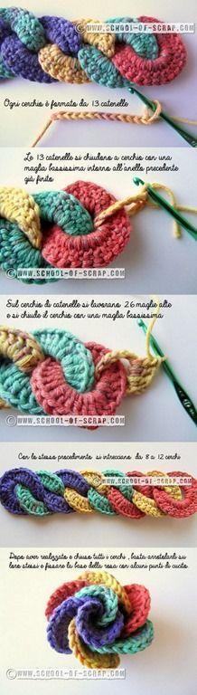Watch The Video Splendid Crochet a Puff Flower Ideas. Phenomenal Crochet a Puff Flower Ideas. Knit Or Crochet, Crochet Motif, Crochet Crafts, Yarn Crafts, Crochet Stitches, Crochet Baby, Chrochet, Crochet Flower Patterns, Crochet Flowers