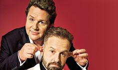 You know them as golden-voiced crooners who've melted a million hearts. Now meet the name-dropping, opera-hating, cheekiest double act in the West End! Broadway, Lovely Smile, Tv Presenters, Kinds Of Music, London Travel, Dimples, Good Music, Beautiful Men, Squad