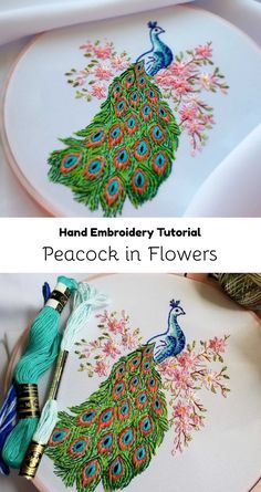 Peacock Embroidery Patterns Victorian Era Embroidery Patterns Vintage Crafts And More. Peacock Embroidery Patterns Kitty And Me Designs Peacock Embroi. Peacock Embroidery Designs, Hand Embroidery Patterns Flowers, Hand Embroidery Videos, Embroidery Stitches Tutorial, Embroidery Flowers Pattern, Simple Embroidery, Hand Embroidery Stitches, Embroidery For Beginners, Embroidery Works