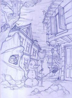 Super Penguen - Sketches on Behance