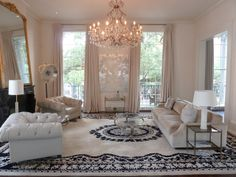 Gorgeous New Orleans living room by jon vaccari