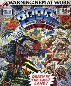 Cover for 2000 AD (IPC, 1977 series) #438