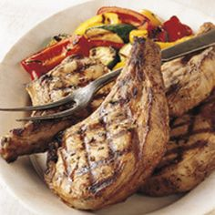 BBQ GRILLING #BBQ #Grilling Pantry Pork Chops