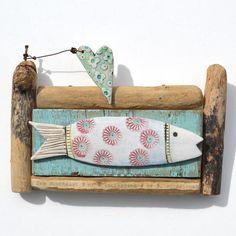 Little Fish - Driftwood Art - CoastalHome.co.uk: Driftwood Shirley Vauvelle