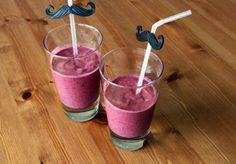 Almond Milk with blueberry #AlmondMilk #blueberry