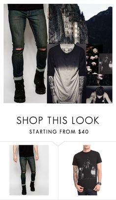 """Untitled #597"" by carolinedarcy ❤ liked on Polyvore featuring ASOS and Sykes"