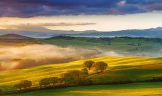 9 Golden Sunrise (Tuscany) by Attilio Di Giangiacomo on 500px