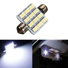 264 New Number Plate Light Bulbs 12V 10W Cars Interior Light Six Supplied Clear