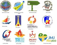The World Youth Day International Gathering Logos through The OY&YAM has sponsored pilgrimages in 2002 and is trying again for Young Adult Ministry, Youth Ministry, Manila, World Youth Day, Catholic Diocese, Worship God, Pope Francis, Roman Catholic, Jesus Loves