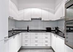 Konyhabútorok | NOR-KISZ Kft. Decor, White Kitchen, Kitchen Cabinets, Cabinet, Home Decor, Kitchen, White Modern Kitchen, White