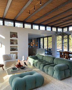 Dream Home Design, Home Interior Design, Interior Architecture, House Design, Small Living Rooms, Home And Living, Living Spaces, House Rooms, House Styles