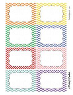 Print Candee - School Chevron Editable Labels - FREEBIE , $0.00 (http://www.printcandee.com/school-chevron-editable-labels-freebie/)