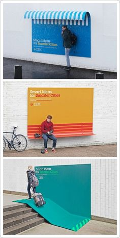 IBM - This is a classic example of making your advertising meaningful...