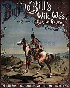 Buffalo Bill's Wild West Show -Vintage