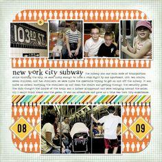 NYC Subway Scrapbooking Layouts   new-york-subway-web