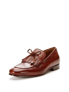 Kiltie Leather Loafers by Wall + Water at Gilt