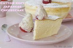 Tu Blog me sabe a...Tarta de Queso Japonesa (Cotton Soft Japanese Cheesecake)