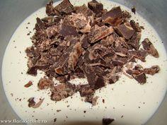 crema-de-ciocolata09 Candy, Meat, Cream, Candy Bars, Sweets