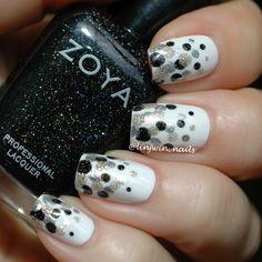 Dotticure with #Zoya #Storm #Tomoko #Trixie @zoyanailpolish