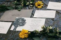 Photography: Nyk + Cali Wedding Photographers  - nykandcali.com  Read More: http://www.stylemepretty.com/little-black-book-blog/2014/10/08/classic-black-white-cedarwood-wedding/