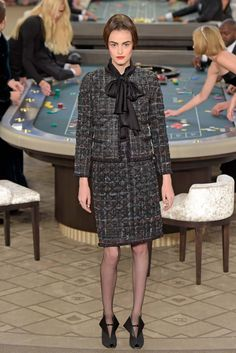 Chanel Couture Fall 2015 - {Fotos: WWD, FFW}