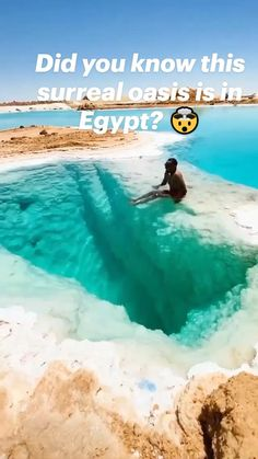 Beautiful Places To Travel, Amazing Places, Dream Vacations, Did You Know, Surrealism, Oasis, The Good Place, Egypt, Travel Tips