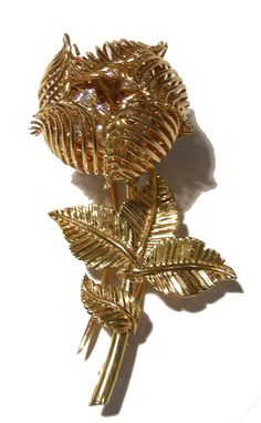 H & D Diamonds is your direct contact to diamond trade suppliers, a Bond Street jeweller and a team of designers.www.handddiamonds... Tel: 0845 600 5557 - Flower Brooch by Cartier