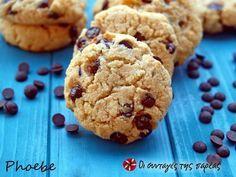 Μπισκότα με ινδοκάρυδο και σοκολάτα