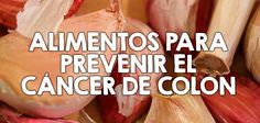 Alimentos para prevenir el cáncer de colon